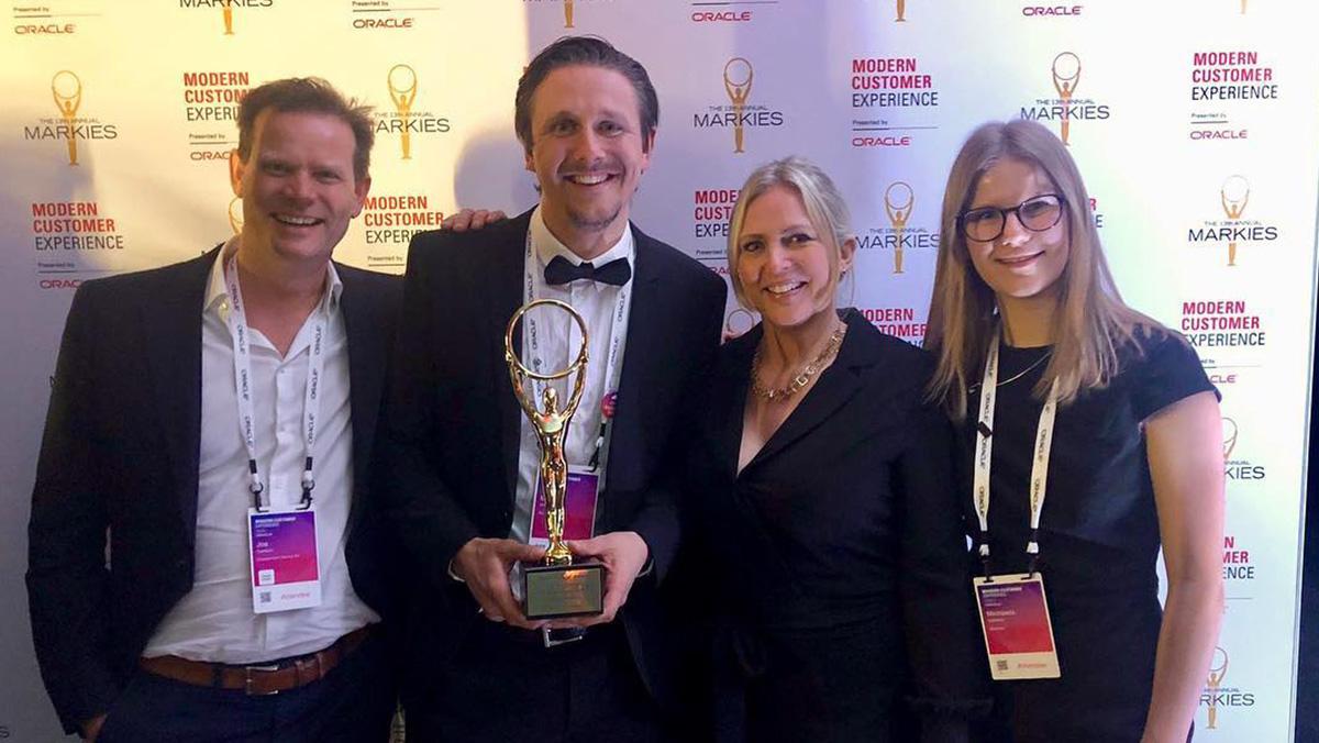 Engagement Factory wint Markie Award met Bonnier News