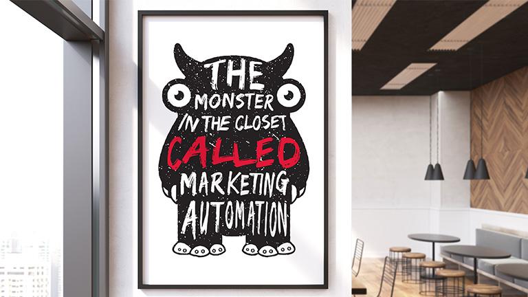Monstret i garderoben; marketing automation