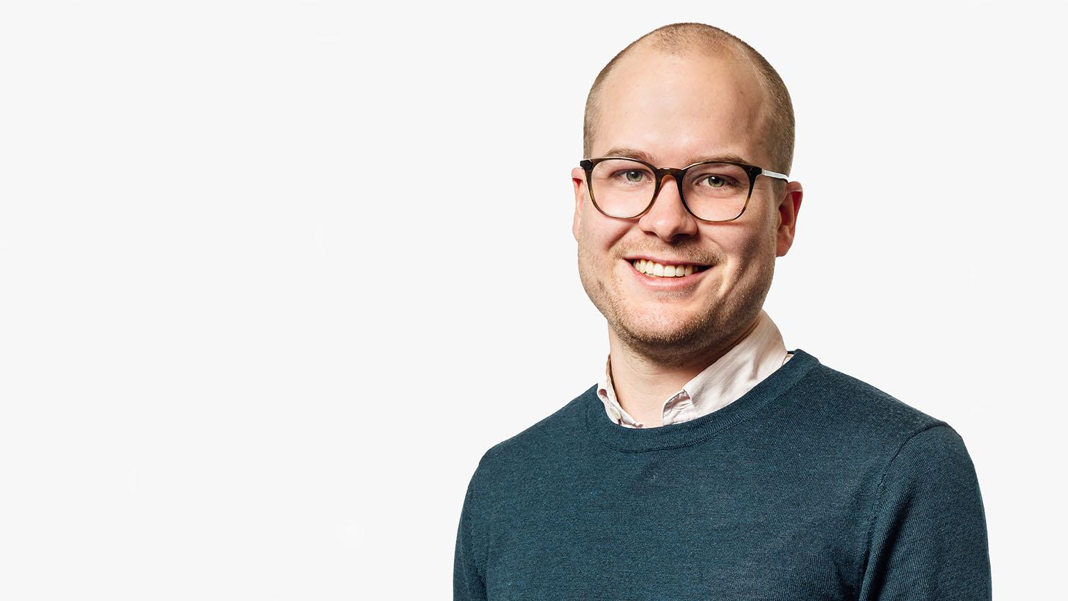 Måns Palmqvist from Bonnier News.